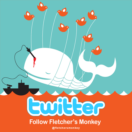 twitter 450 px follow icon monkey